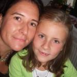 Kati mit ihrer Tochter Fanny